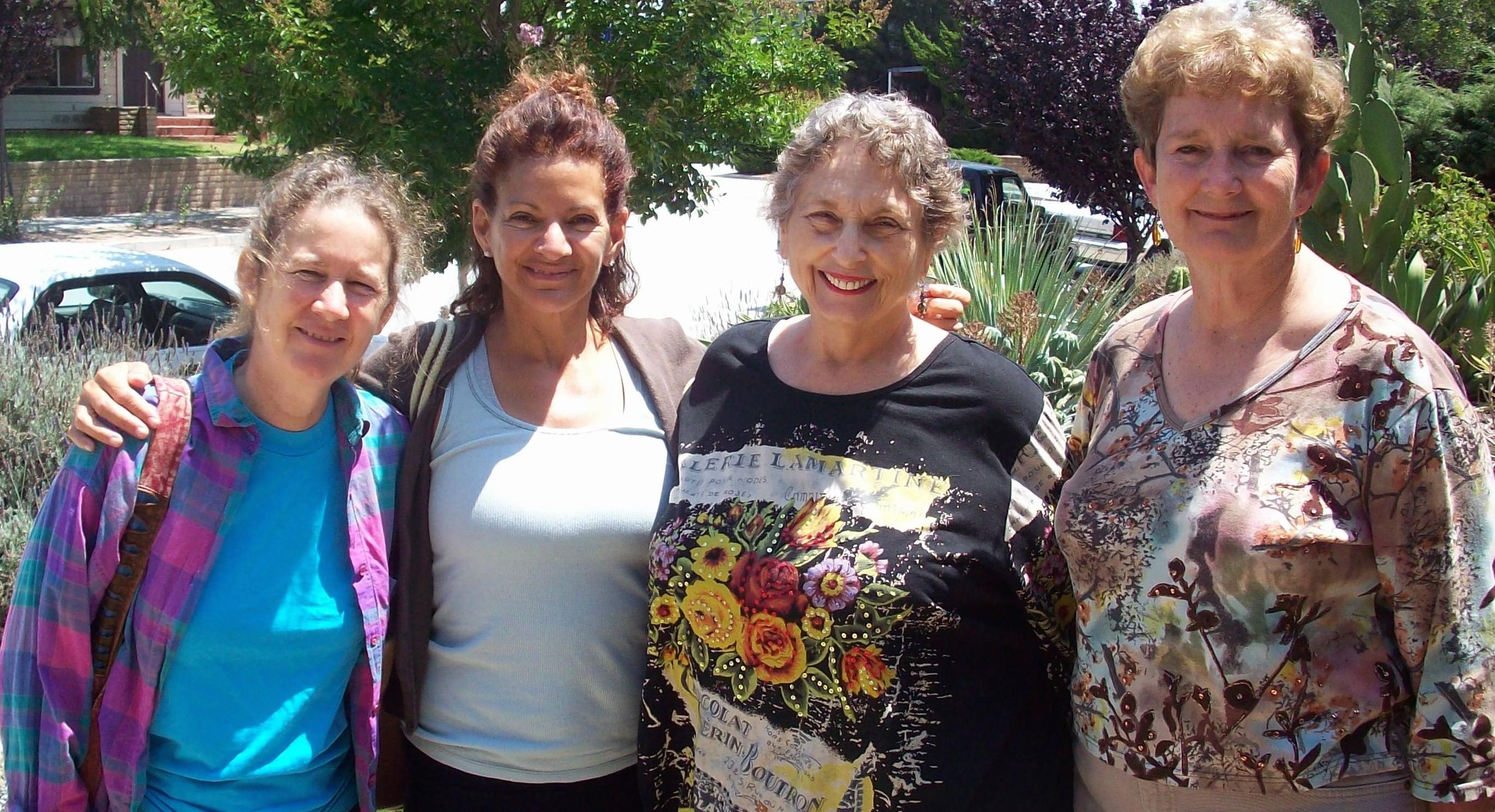 (From left) Rebecca Moore, Jordan Vilchez, Claire Janaro and Laura Johnston Kohl