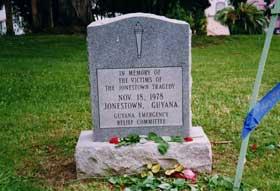 Jonestown Memorial Service