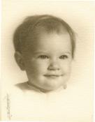 Carolyn as baby