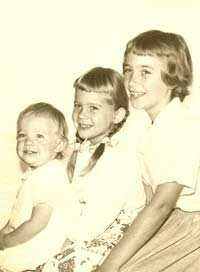Annie, Becky, and Carolyn Moore