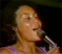 Diana Wilkinson singing