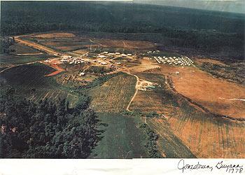 Jonestown from the air