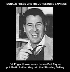 Donald Freed with the Jonestown Express