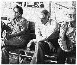 Jim Jones, Charles Garry, Richard Dwyer