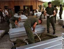 Jonestown Coffin