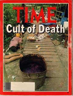 TIME Magazine Cover - Cult of Death