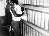 Woman in nursery